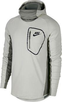 Nike Sportswear Advance15 Hoodie Flc Po Hombre Blanco