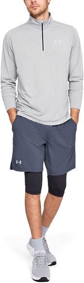 Camiseta con cremallera corta Threadborne™ Streaker Run para hombre