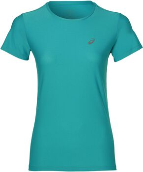 Asics Short-Sleeved Top Mujer Azul
