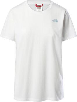 The North Face Camiseta manga corta Campay  mujer Blanco