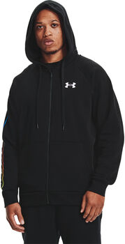 Under Armour Sudadera Rival Fleece Lockertag  hombre Negro