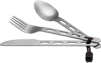 McKINLEY CUTLERY 3PCS STAINLESS STEEL Blanco