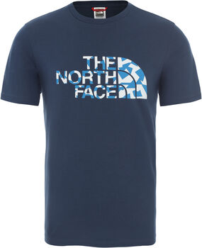 The North Face Camiseta manga corta Berard hombre Azul