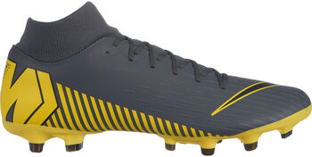 Nike Botas de fútbol Mercurial Superfly 6 Academy MG hombre Gris