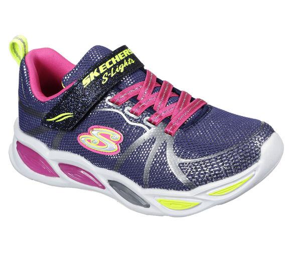 Sneakers Shimmer Beams Sporty Glow