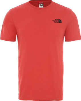 The North Face Camiseta manga corta Berard hombre Rojo