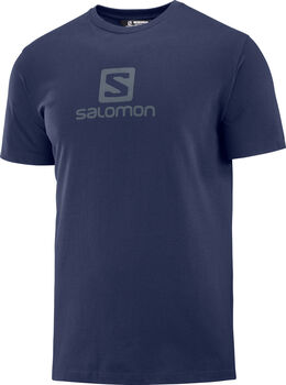 Salomon Camiseta COTON LOGO SS TEE M-Night Sky- hombre