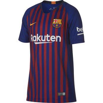 Nike Camiseta de fútbol Breathe FCB Stadium 2018 - 2019 Niño Azul