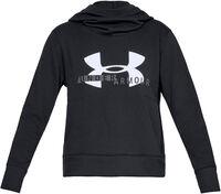 Sudadera con capucha de tejido Fleece y logotipo UA Rival para mujer