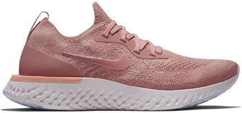 Wmns Nike Epic React Flyknit mujer Rojo