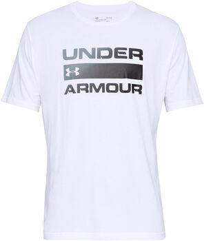 Under Armour Camiseta Manga Corta Team Issue Wordmark hombre Blanco