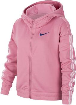 Nike Full-Zip Training Hoodie niña Rosa