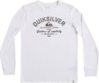 Quiksilver Camiseta Manga Larga Creators Of Simplicity niño