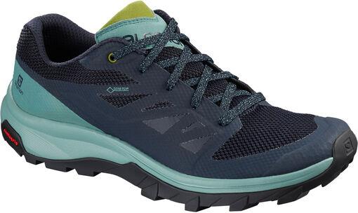 Salomon - Zapatillas OUTline GTX - Mujer - Zapatillas trekking y senderismo - 39dot5