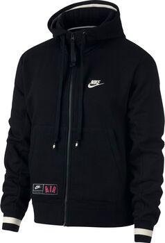 Nike Air Men's Full-Zip Fleece Hoodie   hombre Negro