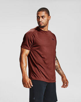 Under Armour Camiseta m/c Tech SS Tee hombre Rojo