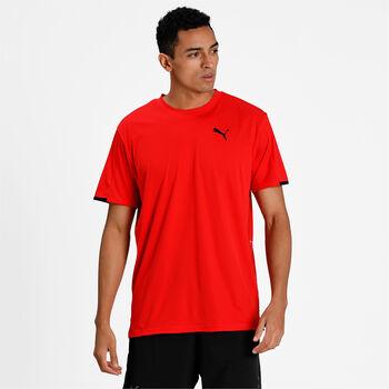 Puma Camiseta manga corta Graphic hombre Rojo