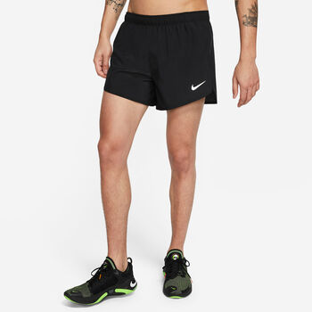 "Nike Pantalón Corto Fast 4"" hombre Negro"