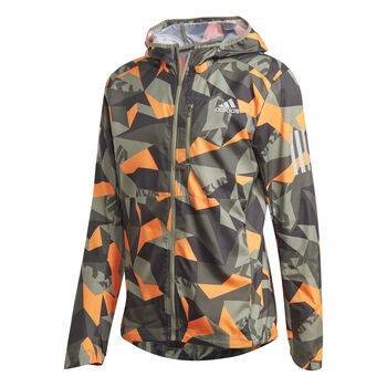 adidas Chaqueta Own the Run Camo hombre