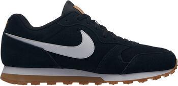 Nike Zapatilla MD RUNNER 2 SUEDE hombre Negro