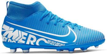 Nike BotaSUPERFLY 7 CLUB FG/MG niño Gris