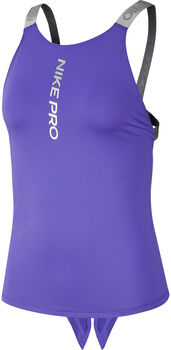 Nike TopNP CAPSULE ELASTIKA TANK GRX mujer Púrpura