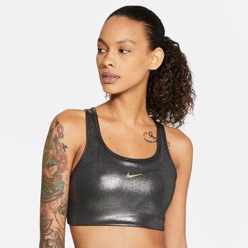 Nike Sujetador deportivo de sujeción media Swoosh Icon Clash mujer