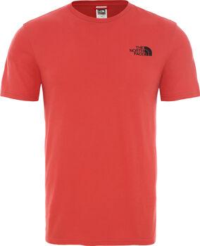 The North Face Camiseta manga corta Berard hombre Rojo