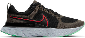 Nike Zapatillas running React Infinity Flyknit hombre Negro