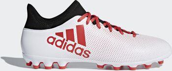 Botas fútbol adidas X 17.3 AG hombre Blanco