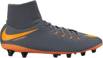 Nike Botas fútbol  Hypervenom Phantom 3 Academy  DF AGPRO hombre Gris