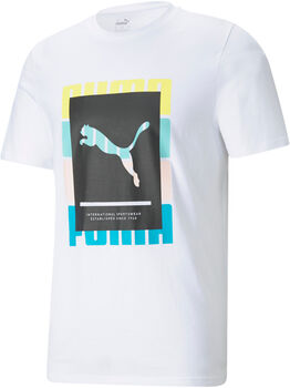 Puma Camiseta manga corta Summer Court Graphic hombre