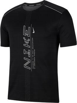 Nike Camiseta manga corta Dri-FIT Miler hombre Negro