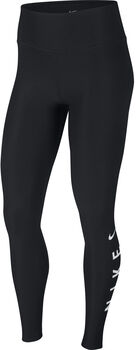 Nike w nk pwr 7/8 tght hbr grx gym mujer Negro