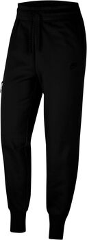 Nike Pantalón Tech Fleece mujer Negro