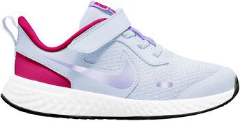 Nike Zapatilla REVOLUTION 5 (PSV) Gris
