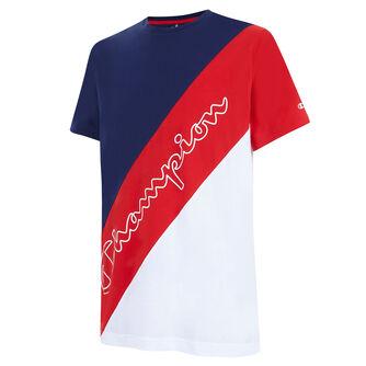 Camiseta manga corta crewneck