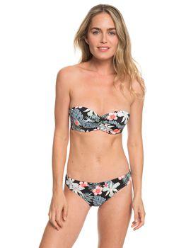 Roxy Beach Classics - Conjunto de Bikini Bandeau Moldeado con Aros para Mujer