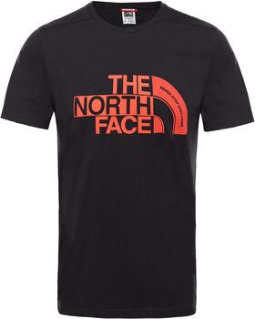 The North Face Camiseta Extent P8 hombre Negro