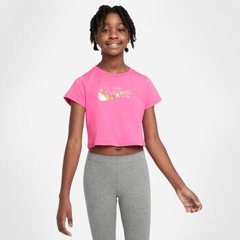 Nike Camiseta de manga corta Sportswear Big Kids niña