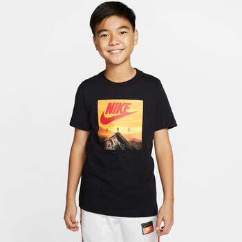 Nike Camiseta Manga Corta Air Big Kids' (Boys') T-S Negro