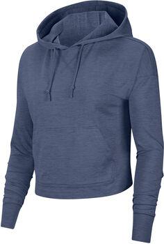 Nike Sudadera Yoga Cropped mujer Azul