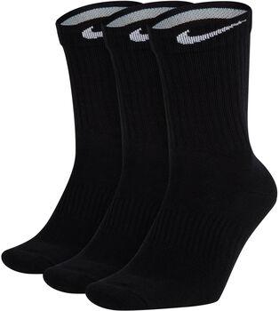 Nike 3-Pack Calcetines Perfect Lightweight Crew Negro