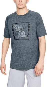 Under Armour Camiseta m/c Tech Graphic SS-BLK hombre