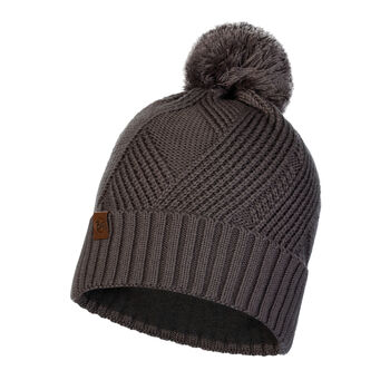 Buff  KNITTED & POLAR HAT RAISA GREY