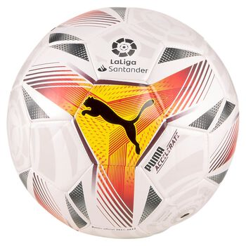 Puma Balón fútbol LaLiga 1 Accelerate Mini Ball Blanco