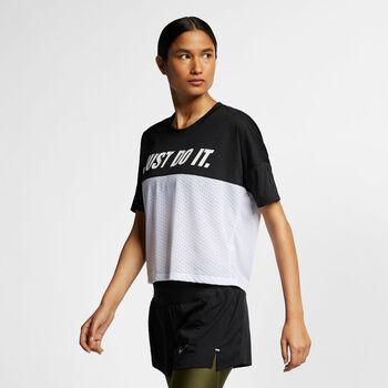 Nike TAILWIND TOP SS SD mujer Negro