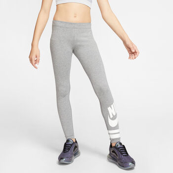 Nike Sportswear graphic leggings niña Gris