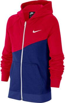 Nike Sudadera B NSW SWOOSH HOODIE FZ FT Azul