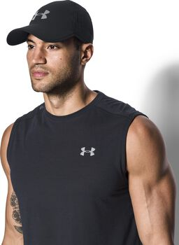 Under Armour Gorra de running UA Shadow 4.0 para hombre Negro